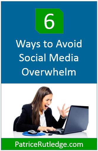 Social Media Overwhelm